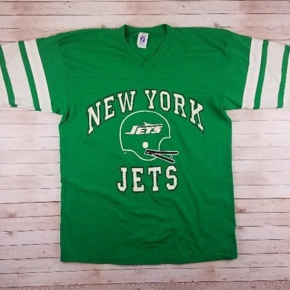 VTG 1990s New York Jets Logo 7 Tee Shirt