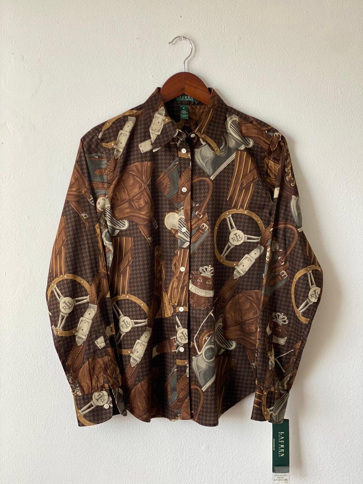 NWT Ralph Lauren Dress Shirt Sz M