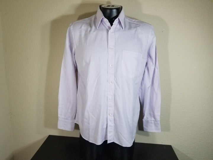 Canali Men Long Sleeve Dress Shirt