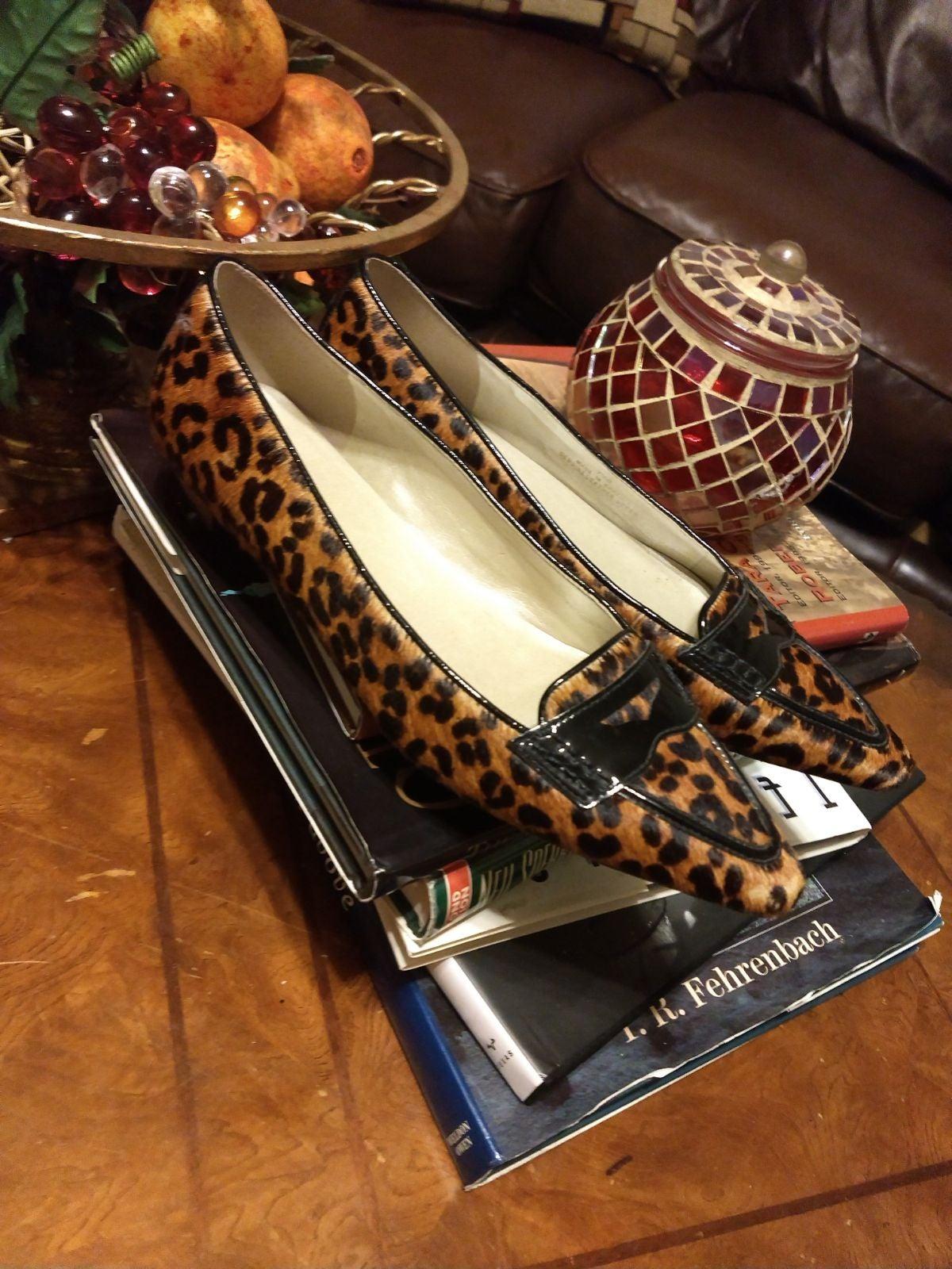 Talbots Cheetah Leopard Print