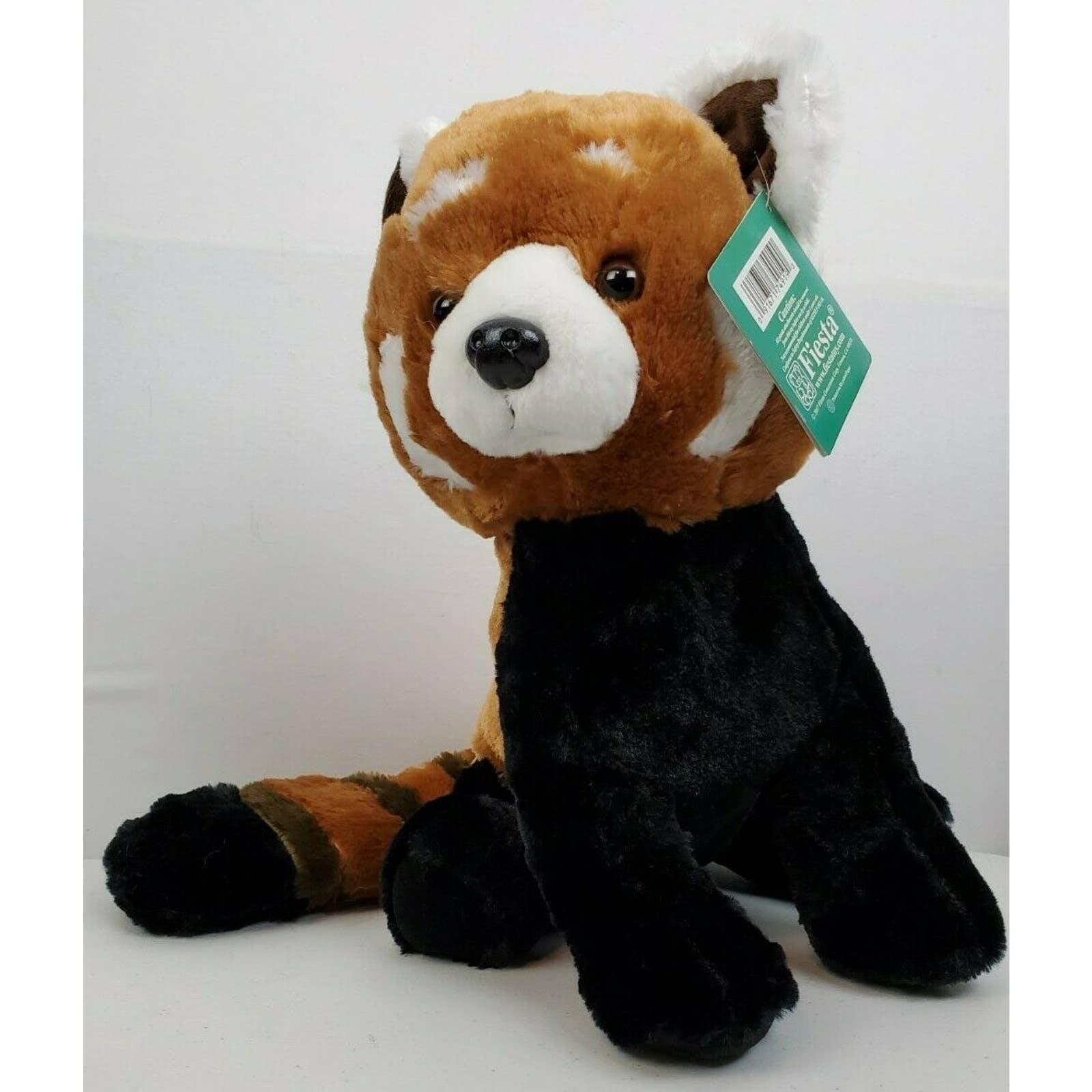 FIESTA PLUSH Cute Standing Red Panda