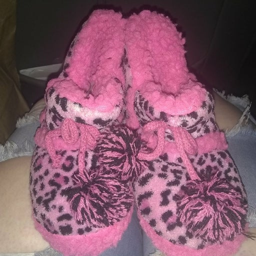 Duds toddler slippers size 5/6