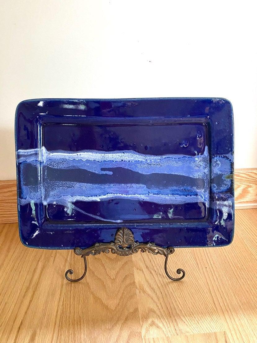 Royal Blue Handmade Tray