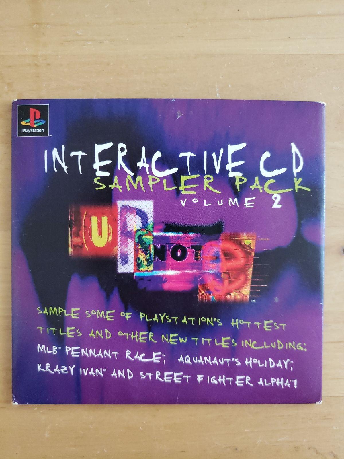 PS1 CD Sampler Pack vol. 2