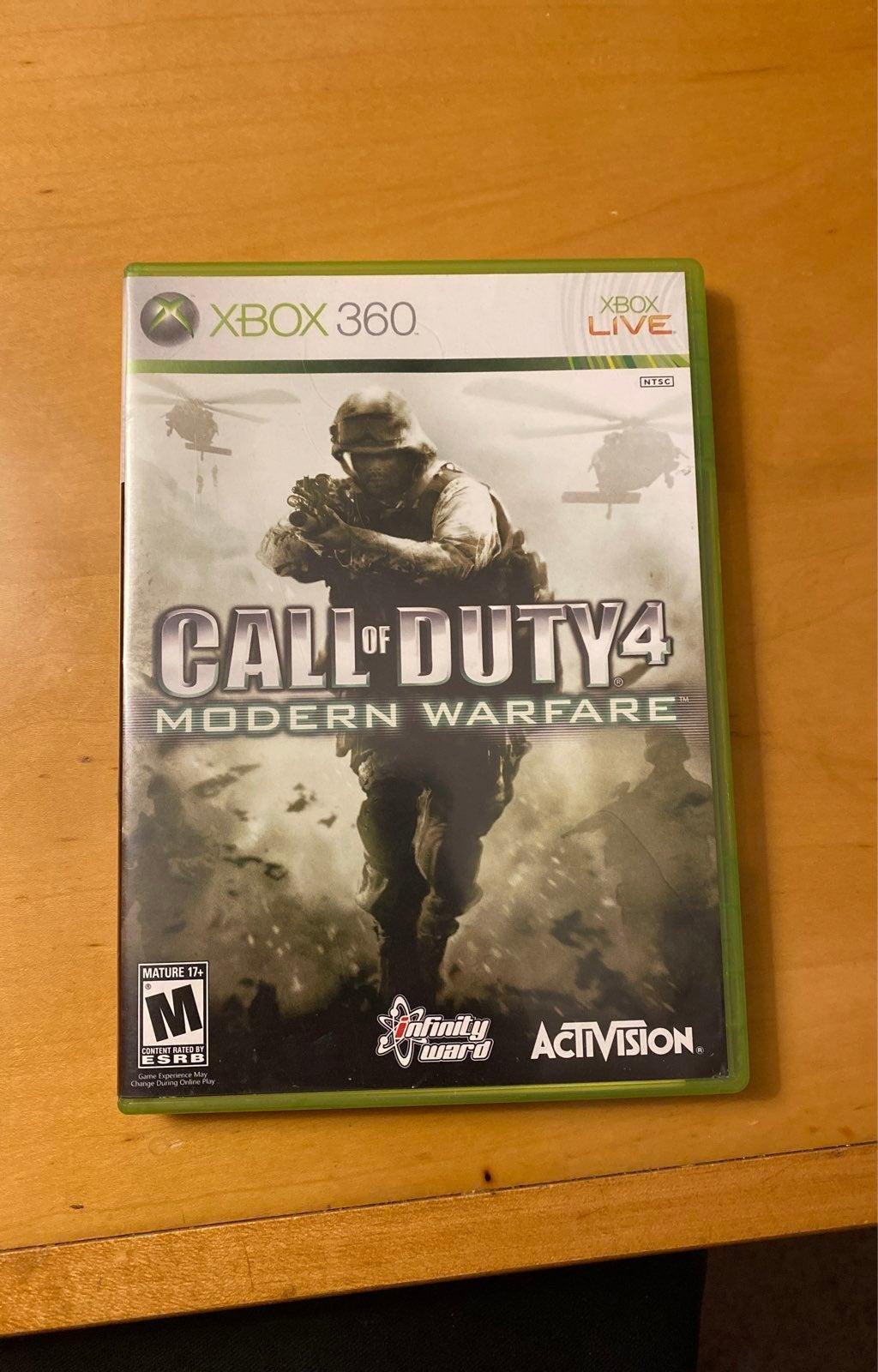 Call of Duty 4: Modern Warfare on Xbox 3