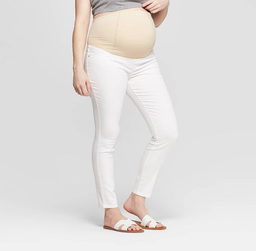 Isabel maternity plus size skinny jeans