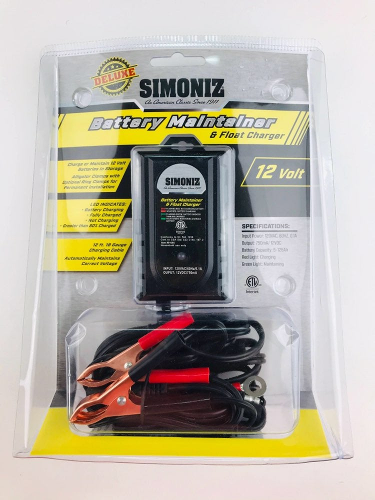 Battery Maintainer & Float Charger 12 Vo