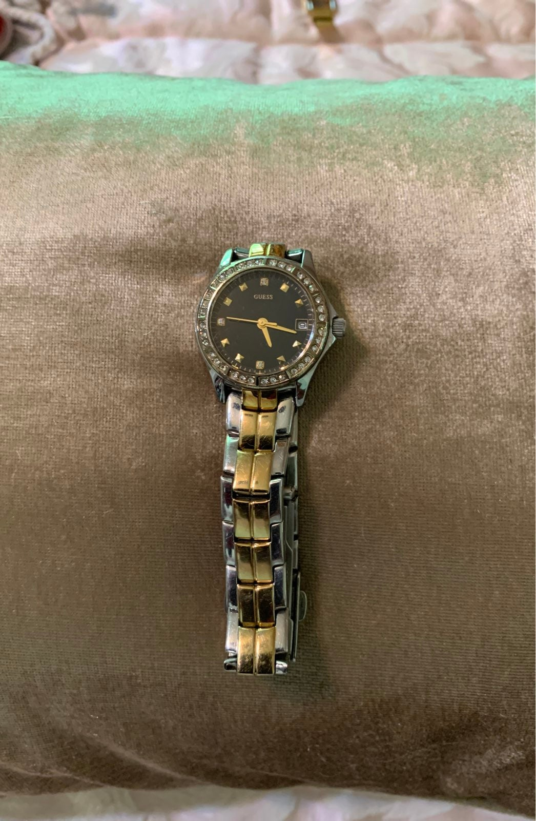 GUESS yellow watches for women
