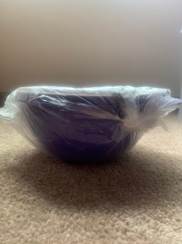 Tupperware Thatsa Bowl Jr - new purple