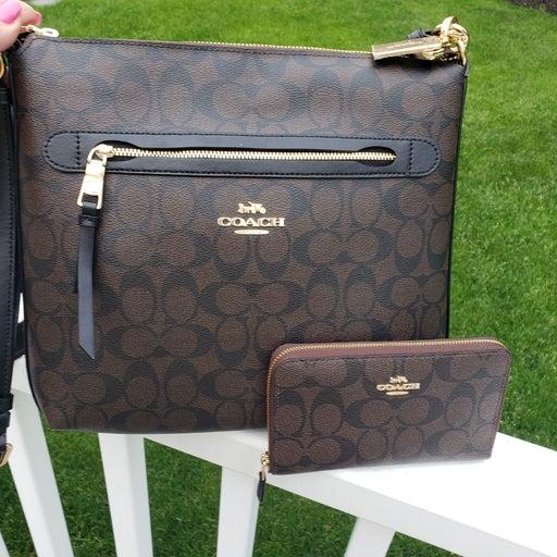 Coach Crossbody Shoulder Bag/Wallet NWT