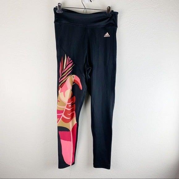 NWT Adidas x Farm Rio Feel Leggings M