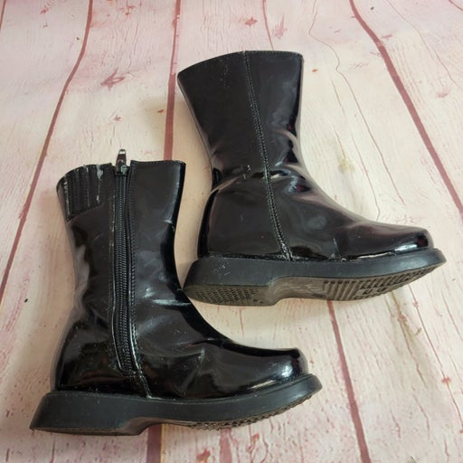 Link patent leather Boots 7