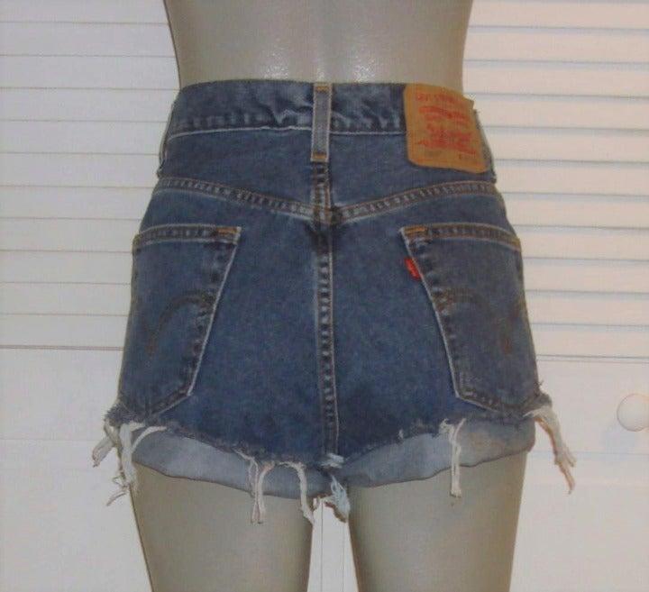 Vintage Levi's High Waist Cut Off Shorts