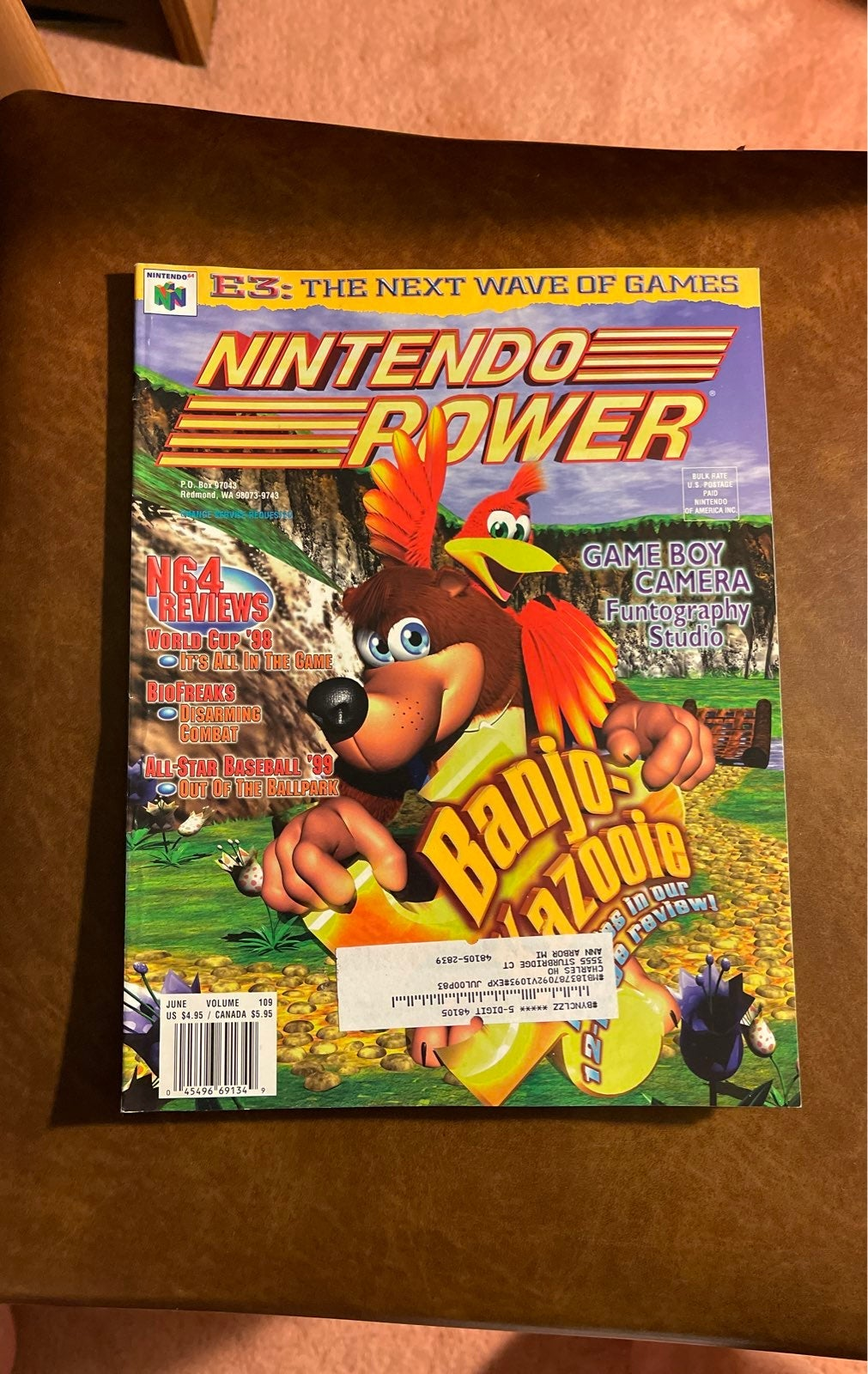 Nintendo Power Magazine #109