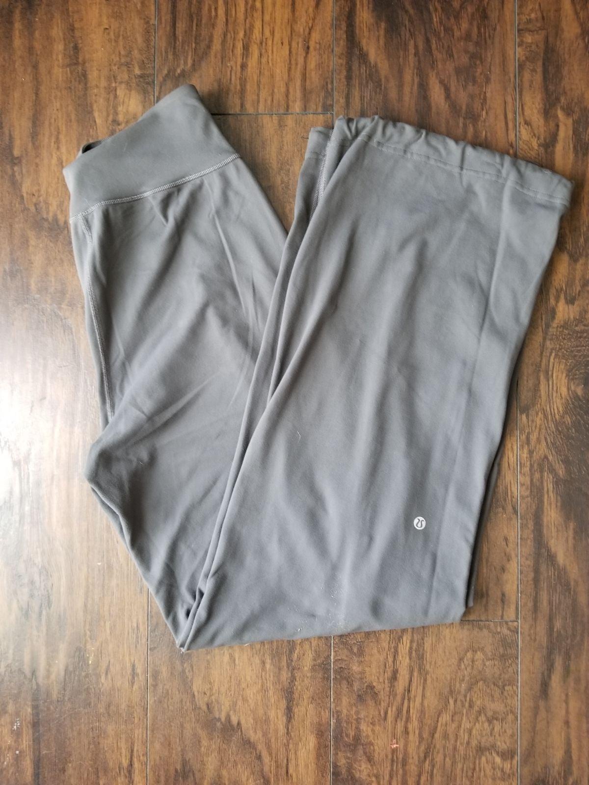Lululemon wide leg draw string pants