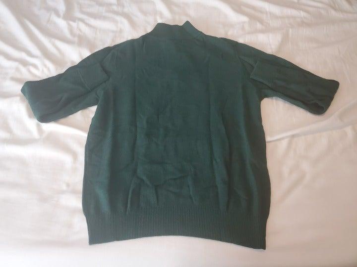 Bloomingdale Half-Zip Sweater L