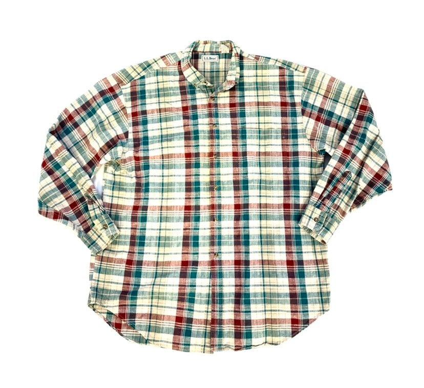 vintage ll bean button down shirt