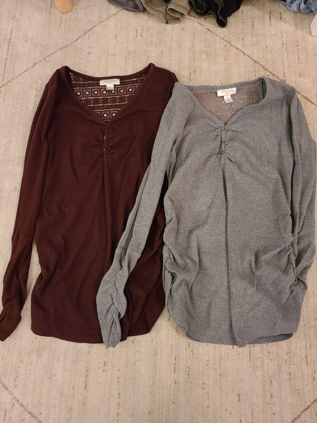 Maternity Long Sleeve shirts bundle