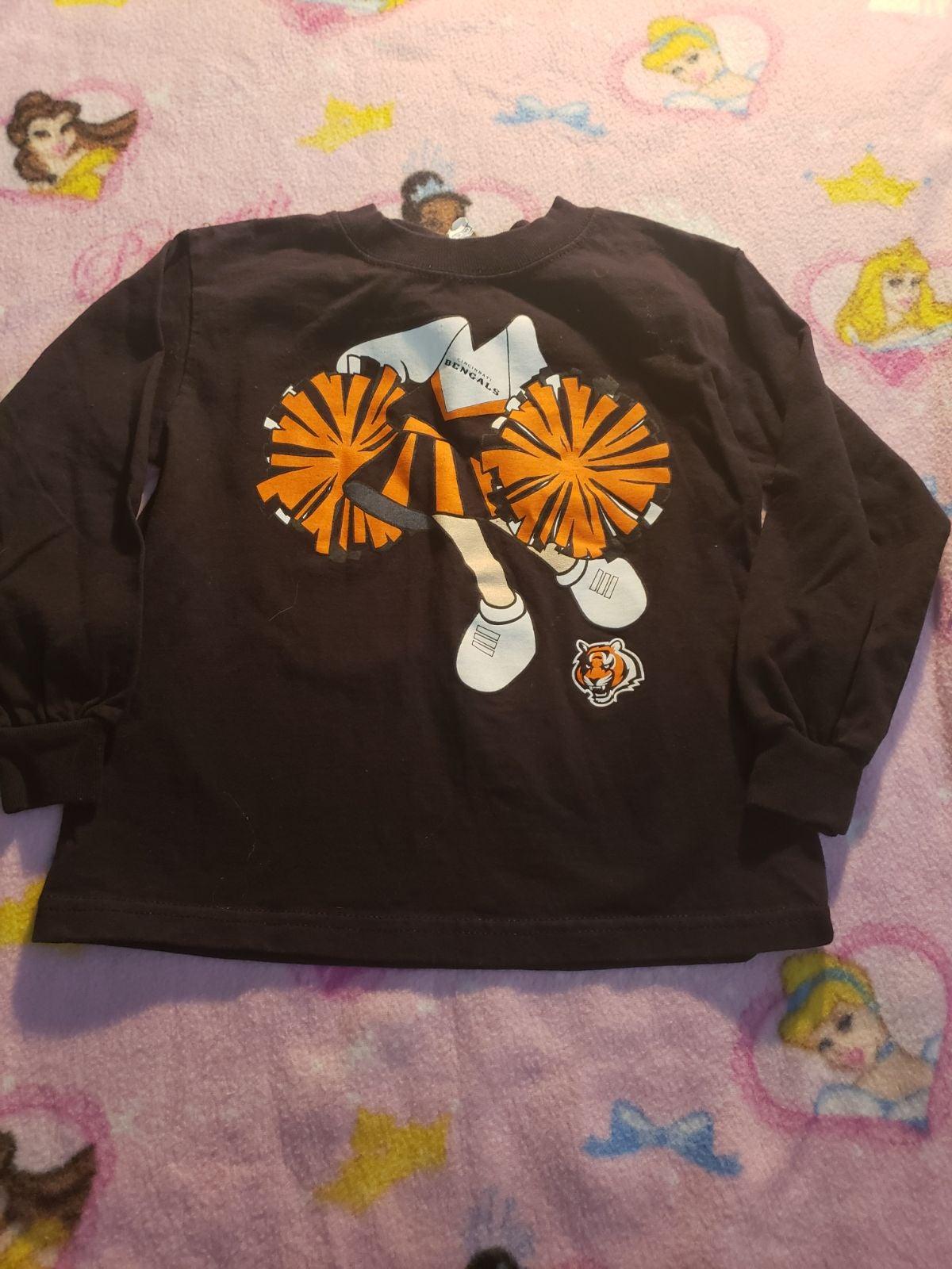 Toddler bengals shirt 4t