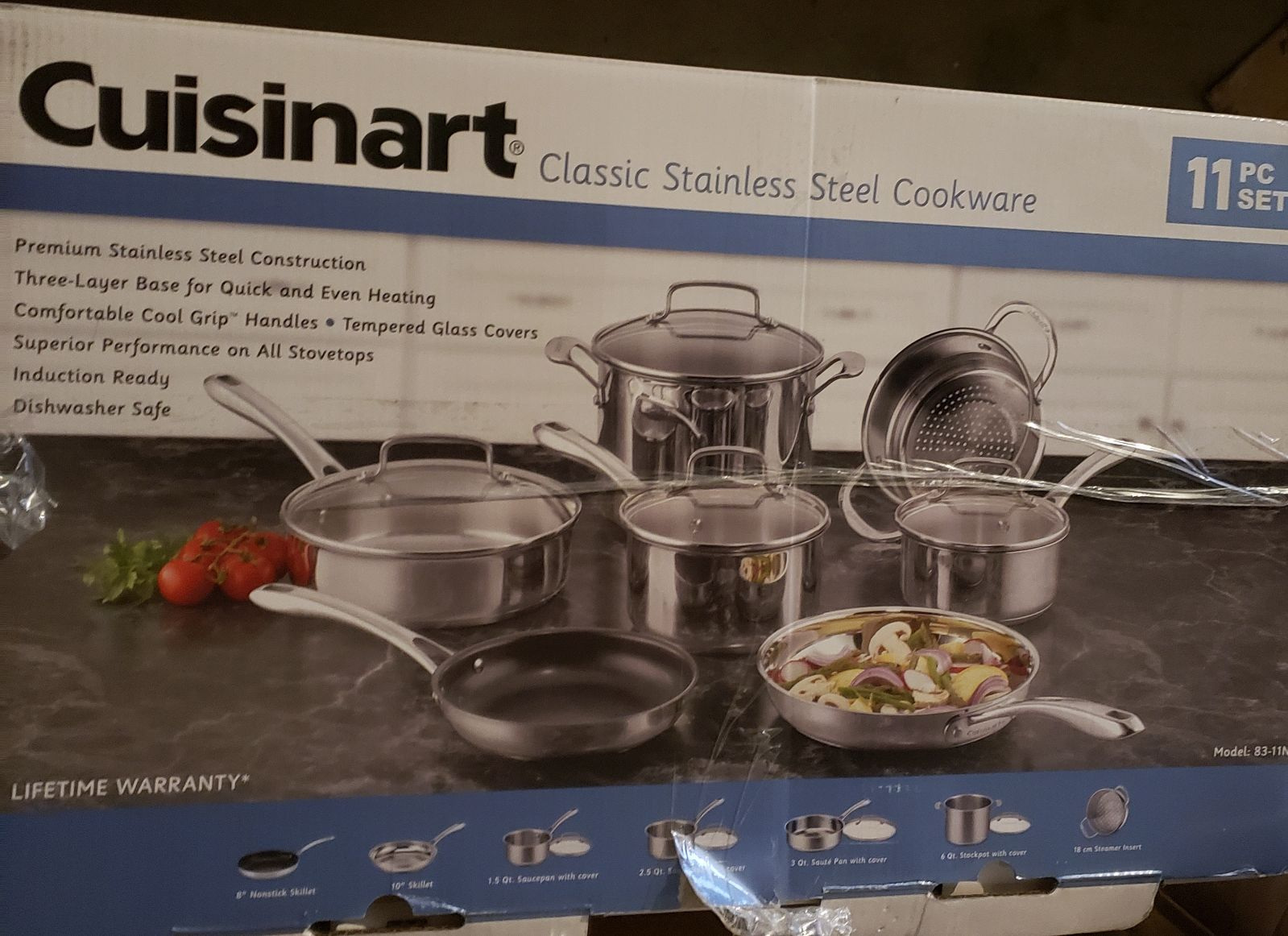 Cuisinart Classic 11pc Stainless Steel C