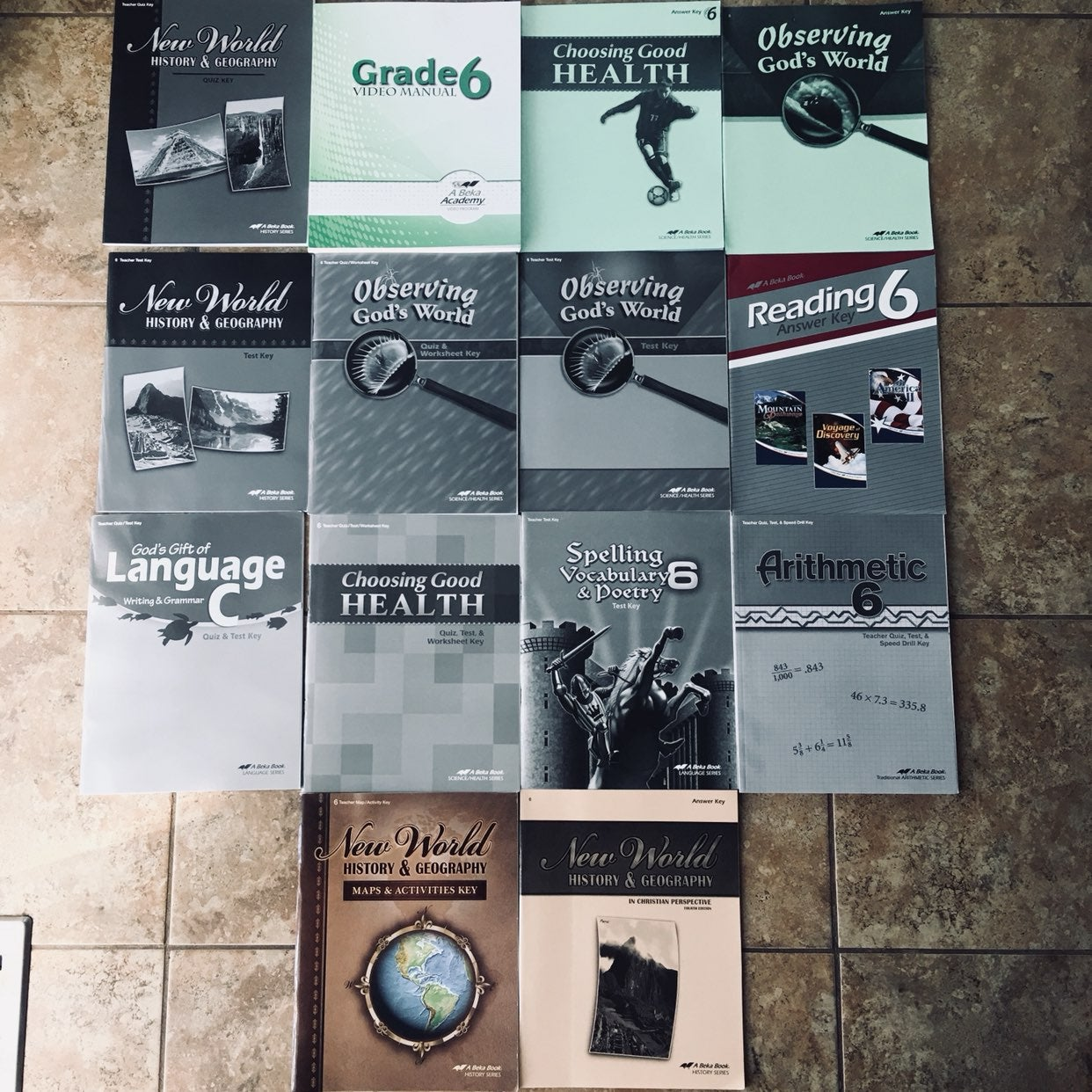 Set Of 14 A BEKA Books Grade 6 Teacher