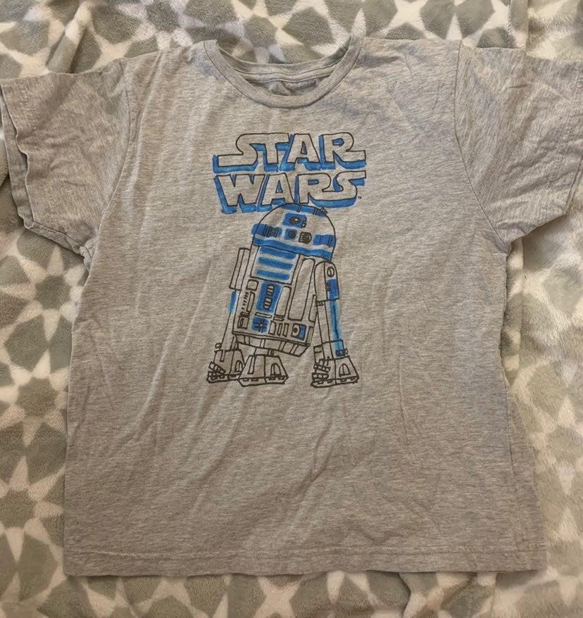 Boys R2D2 Star Wars T-Shirt