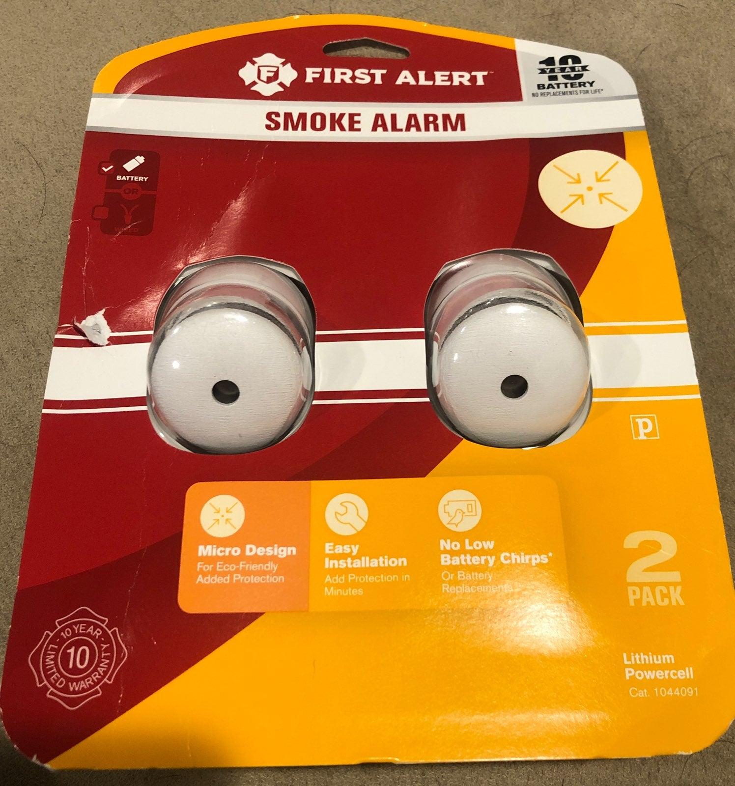 Micro Smoke Alarm