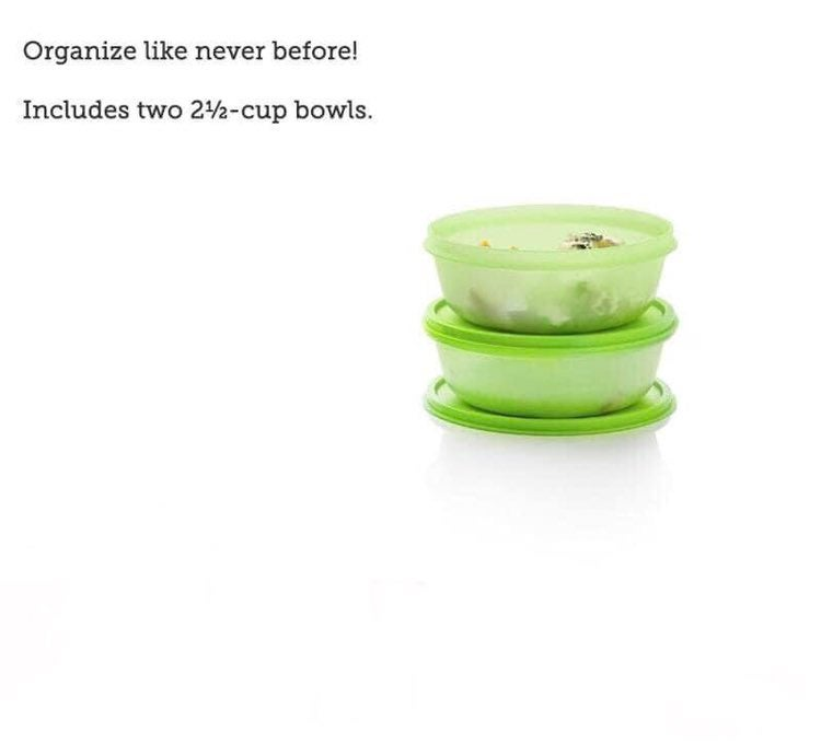 Tupperware Modular Bowls