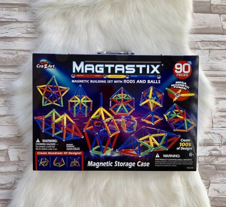 Magtastix 90 Piece Building Set