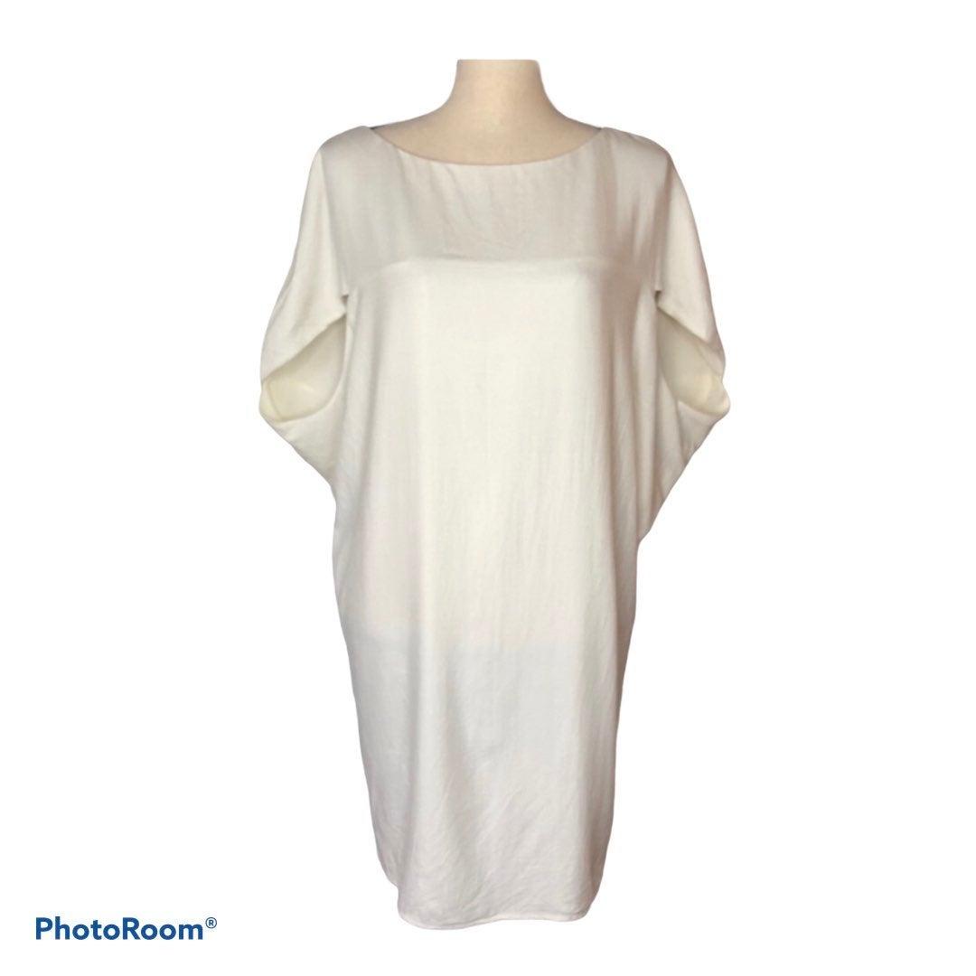 ABS Allen Schwartz white dress sz XS