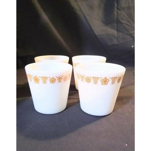 pyrex 1410 butterfly gold mug(4)