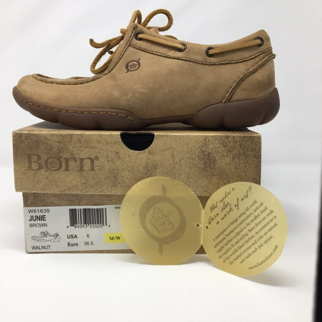 "Born ""June"" Walnut Shoes Sz6"