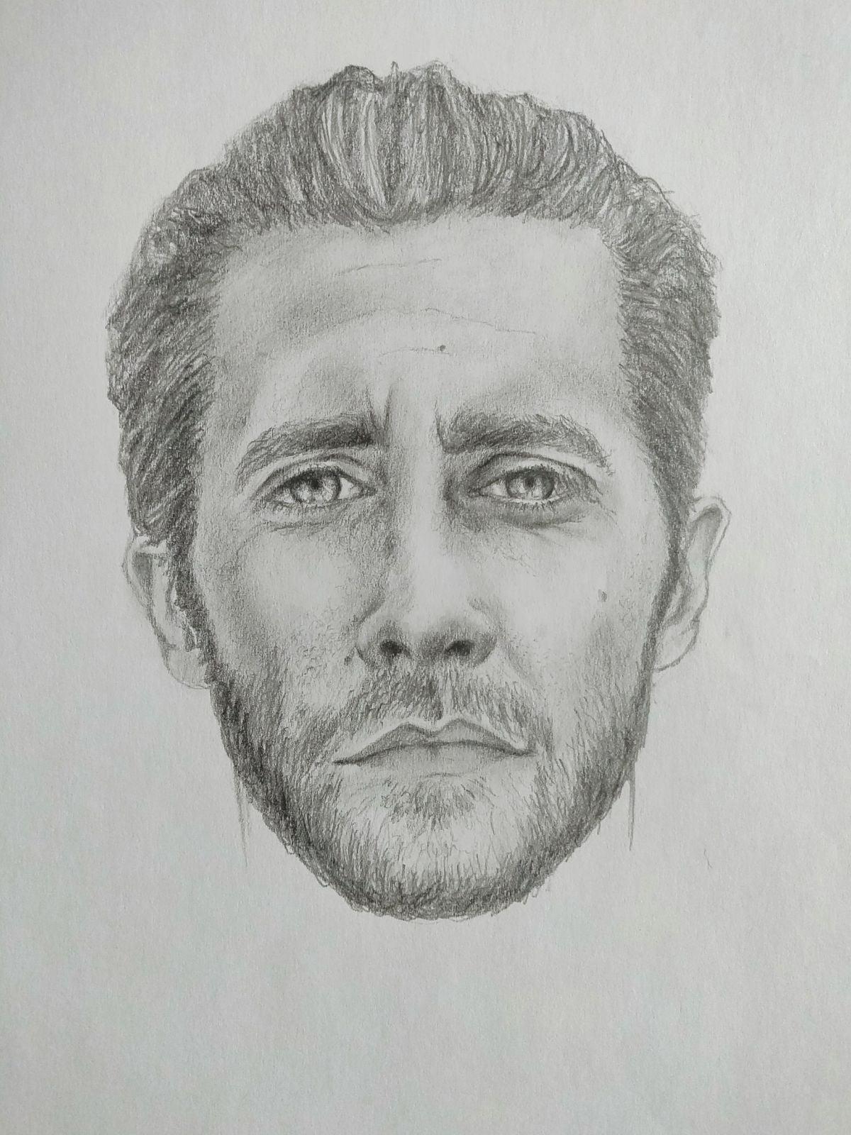 Drawing of Jake Gyllenhaal