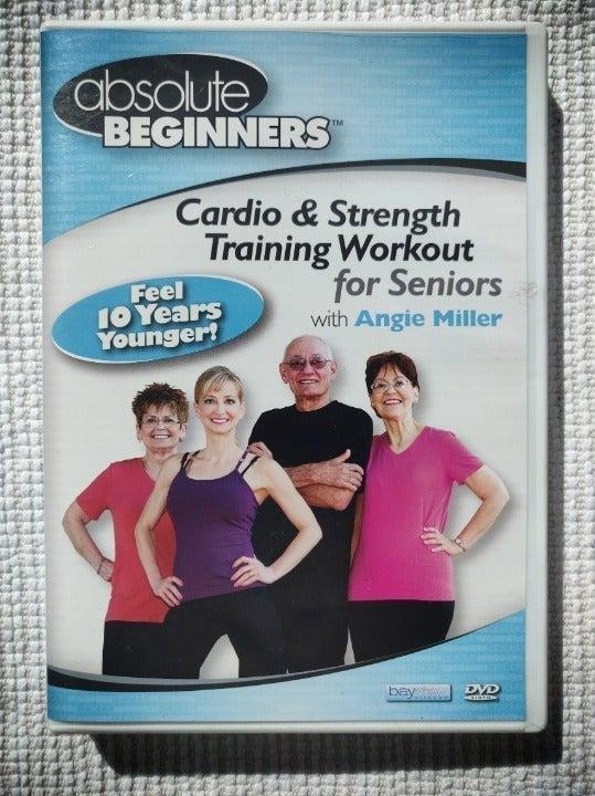 Senior exercise DVDs (2 copies)