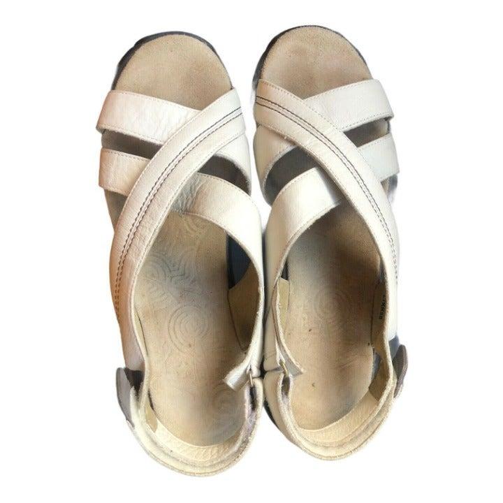 Swiss MBT Womens Leather Sandal US 10 EU