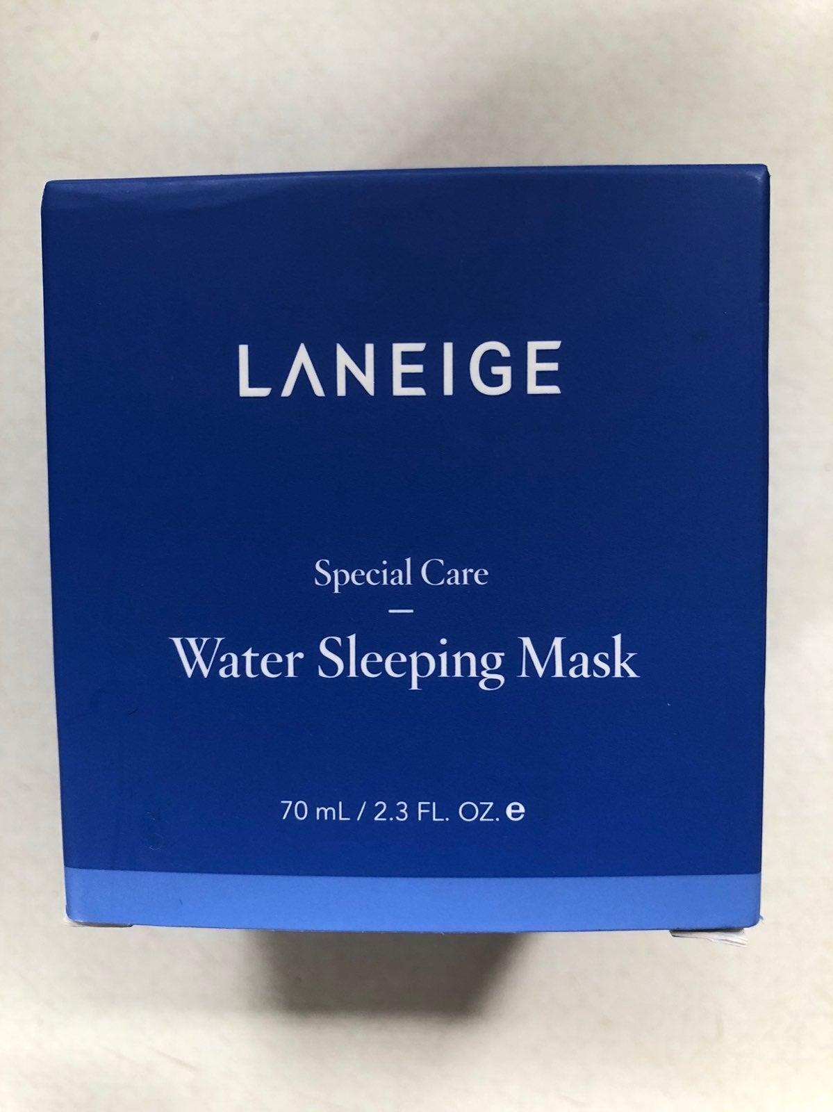 NWT Laneige Water Sleeping Mask