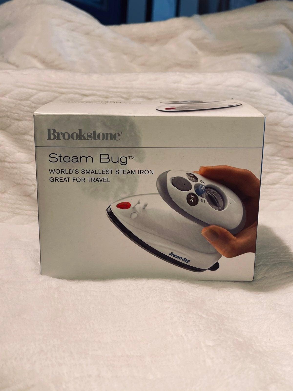 "Brookstone ""Steambug Mini travel Iron"" N"