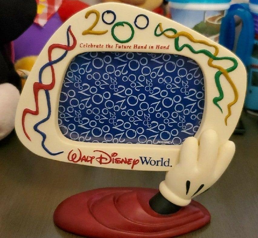 "Disney World ""2000"" Resin Picture Frame"
