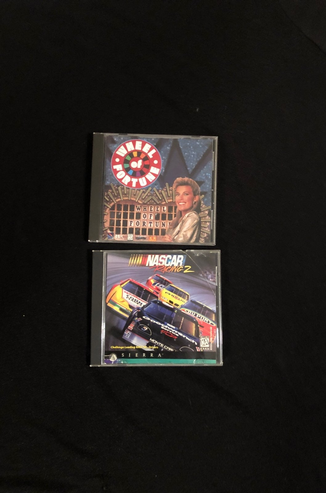 2 Computer Games - Nascar and Wheel of f