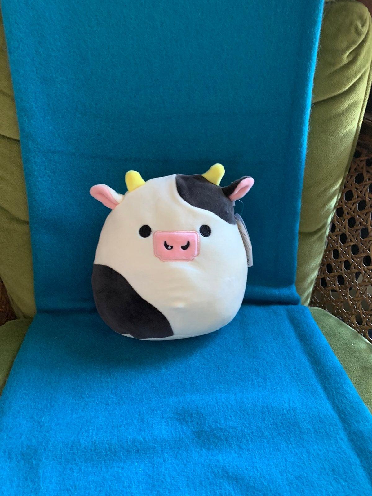 "Squishmallows Clover the Bull 7"""