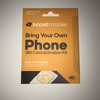 Boost Mobile SIM card activation kit