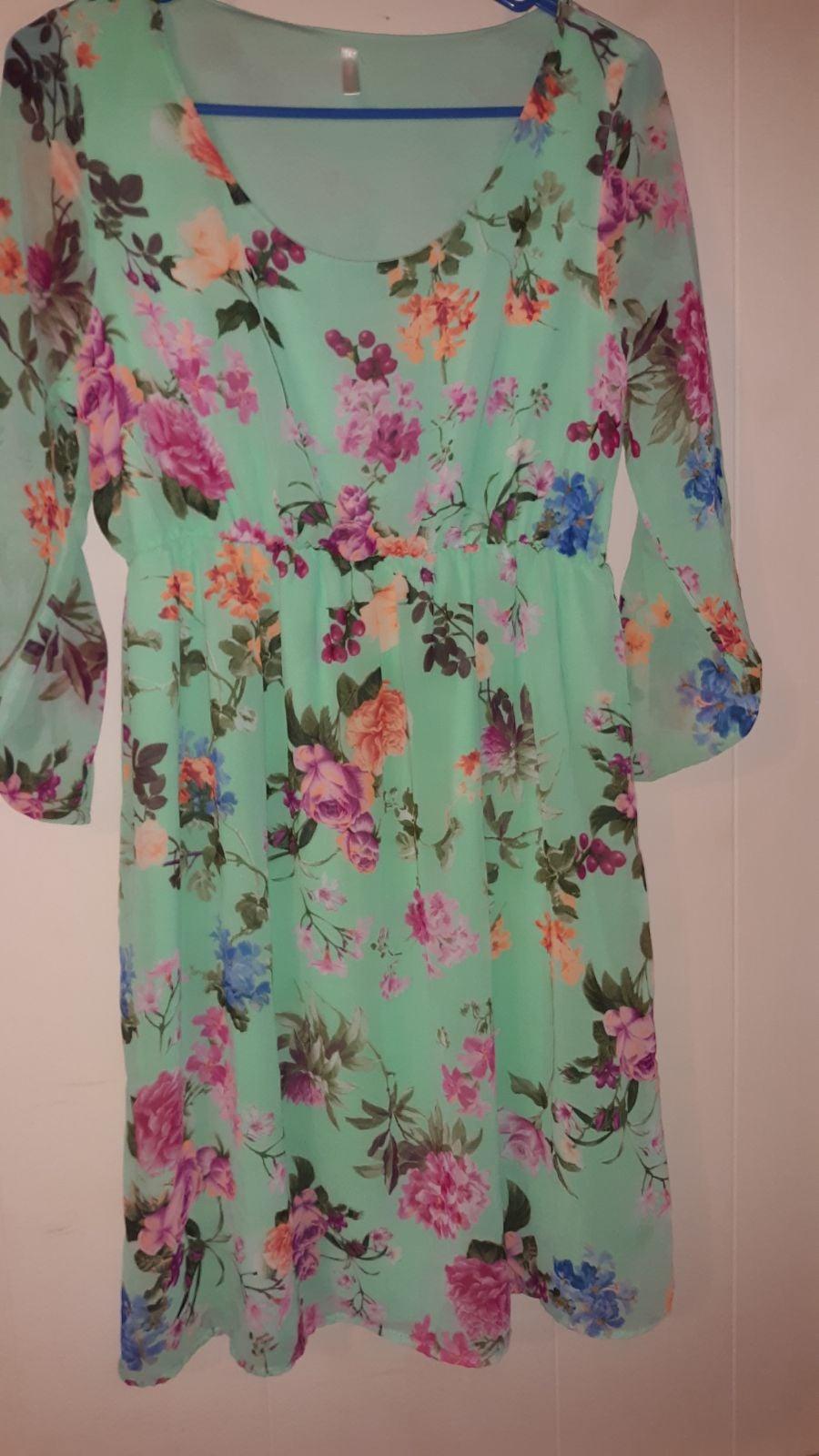 Pinkblush floral maternity dress -M
