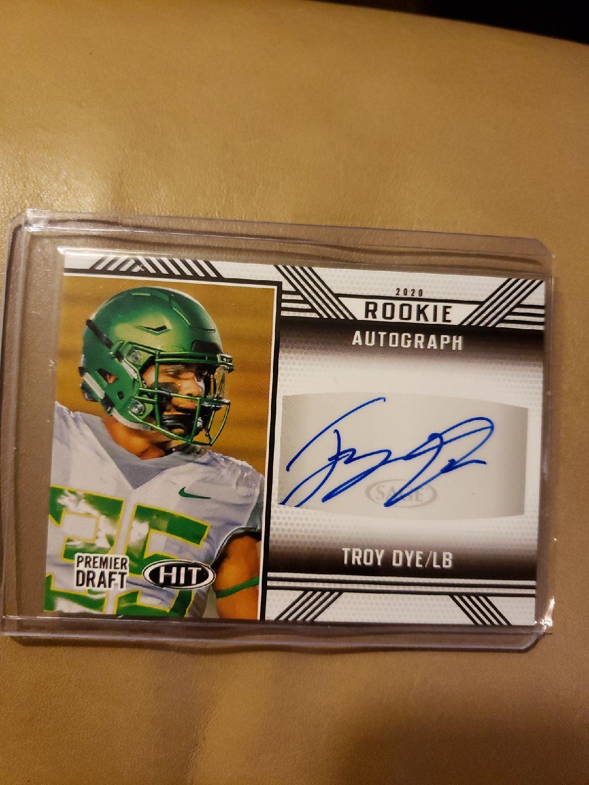 Hit Premier Troy Dye Autograph RC