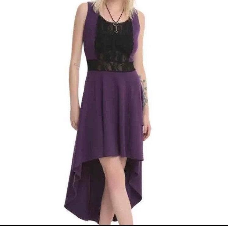 Purple TRIPP Dress Goth