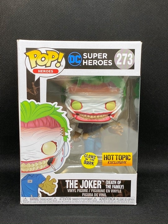 Funko POP! The Joker #273 Hot Topic