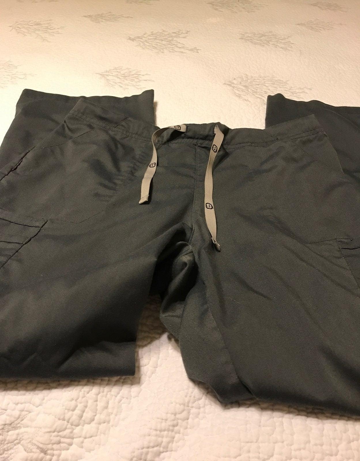 Gray scrub pants