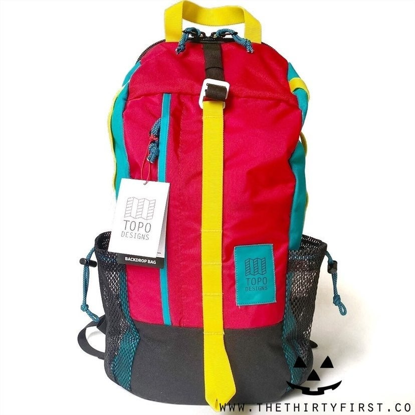 NWT Topo Designs Backdrop Backpack