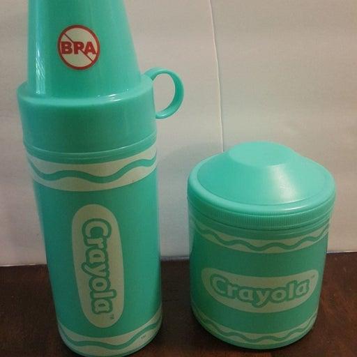 Crayola thermos set