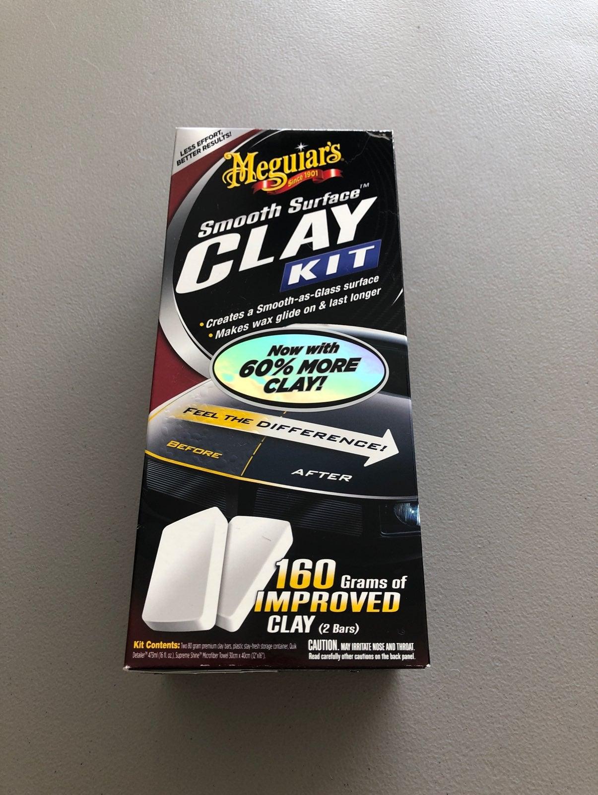 Meguiars clay kit