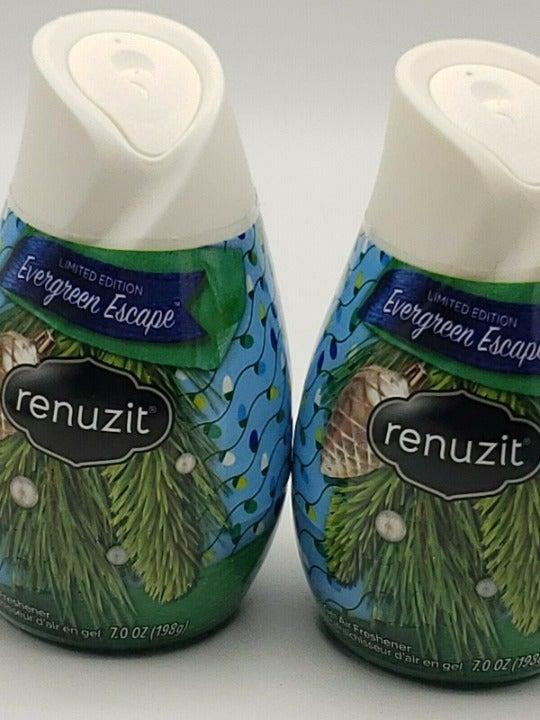 2 Renuzit Evergreen Escape Solid Gel Air